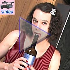 xdresser fucks wine bottle